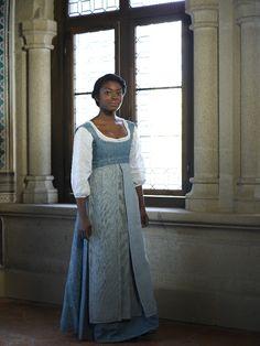 """STILL STAR-CROSSED - ABC's """"Still Star-Crossed"""" stars Ebonee Noel as Livia Capulet. (ABC/Bob D'Amico)"""