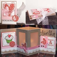 carefully crafted cuteness by Melyssa Connolly: Valentine Votive Card and Tutorial