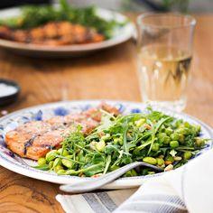 Vihreä soijapapusalaatti | K-ruoka #kasvisresepti