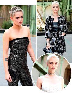 pixie cut katy Perry, Cara Delevingne e Kristen Stewart
