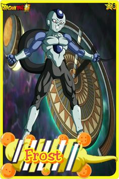 Forst- Team Universe 6. Dragon ball super