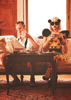 """Paparazzi"" video. Alexander Skarsgaard and Lady Gaga"
