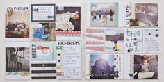 Layout created by Scraptastic Kit Club DT Member Katie Rose with the This Life Noted kit