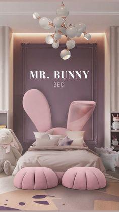 Modern Kids Bedroom, Bedroom Decor For Teen Girls, Cute Bedroom Ideas, Kids Bedroom Furniture, Room Ideas Bedroom, Baby Room Decor, Home Decor Bedroom, Furniture Design, Room Design Bedroom