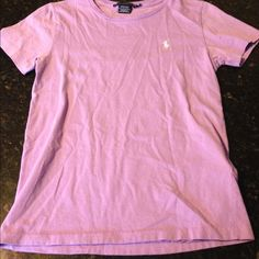 Polo by Ralph Lauren tshirt - short sleeve Polo by Ralph Lauren tshirt - short sleeve - lilac 100%cotton Polo by Ralph Lauren Tops Tees - Short Sleeve