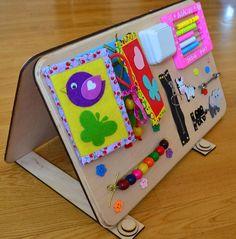 Video https://www.youtube.com/watch?v=qFO6zslvGkc Nuestro equipo FoxFamily crea juguetes educativos-Board. Son importantes para el desarrollo de habilidades motoras, inteligencia andimagination. Este juguete es conveniente para los niños y los pequeños. Además, sería mejor para el desarrollo de habilidades motrices finas de los dedos del niño. El tamaño de un tablero 50x30x5 cm (20 x 12 x 2 ). El tamaño total del tablero 100x60x5 cm (40 x x 2 ) Nuestras tablas son las mej...