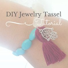 DIY tassel tutorial for trendy jewelry by the blue beadle jewelry supply. #thebluebeadle #diyjewelry
