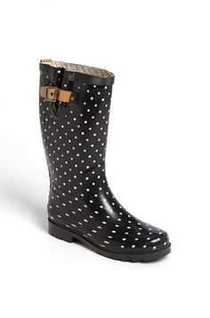Chooka 'Classical Dot' Rain Boot