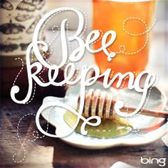 all a buzz. It's all a buzz. Lettering Design, Logo Design, Graphic Design, Garden Animals, Bee Happy, Bees Knees, Typography Letters, Bee Keeping, Design Inspiration