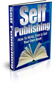 Have you always wanted to write your own book and get it published?  Discover How to Write, Print & Sell Your Own Book!...eBoook With PLR.