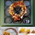 A+Wreath+of+Autumn+Roses