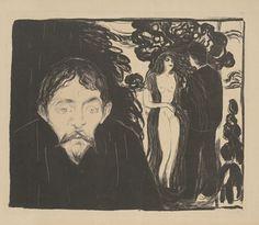 Edvard Munch(Jealousy II)  (source)