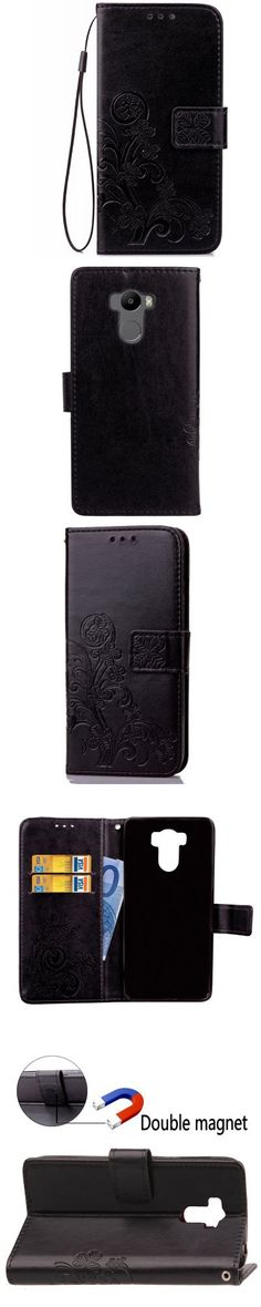Yc Lucky Clover Holster Leaf Card Lanyard Pu Leather for Xiaomi 4 -$4.67