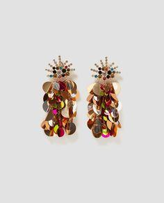 Imagen 1 de PENDIENTES MULTI DISCOS de Zara