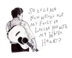 Lyrics from White Blank Page by Mumford & Sons off their album Sigh No More. This is my FAVORITE song of theirs!