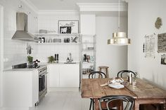 Nordic Interior Design Kitchen - Interior design for small square living space scandinavia vs nordic motivated gray dark styles bedroom boys rectangular how to a with fireplace and tv 2013 scandinavia Interior Design Kitchen, Interior Design Inspiration, Decor Interior Design, Nordic Interior, Room Interior, Interior Decorating, Kitchen Designs, Interior Ideas, Rustic Kitchen