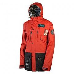 LINE | OUTSIDERS JKT - (TECHNICAL RED)