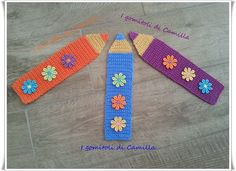 Crochet Bookmark Pattern, Crochet Bookmarks, Crochet Crafts, Crochet Projects, Crochet Symbols, Bible Covers, Crochet Accessories, Projects To Try, Camilla