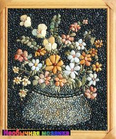 Мария Манева, болгарский художник, картины из ракушек, картины из природных материалов, мозаика из ракушек, ракушки песок кораллы, подарок с берега моря, подарок из болгарии