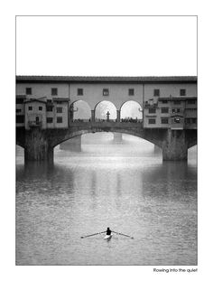 Rowing in Florence - gorgeous pic! Row Row Your Boat, Row Row Row, The Row, Rowing Sport, Rowing Crew, Rowing Photography, Remo, Pub, Sport Body