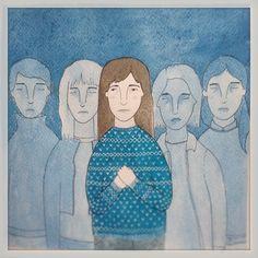 Ella y sus fantasmas, by Maria Andrea Miranda Serna, 2014