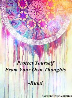 Protégete a ti mismo de tus propios pensamientos