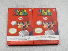 2x Super Mario Pins (2016 Collectors Series 1)