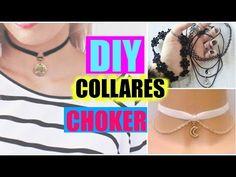 DIY - Chokers - Gargantillas María Mónica Verdooren - YouTube