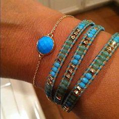 Gorgeous Stella & Dot bracelet combo on Stylist Brooke Gray!