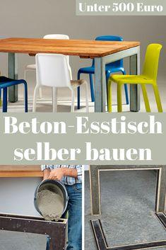 beton tischplatte selber gie en ostseesuche com. Black Bedroom Furniture Sets. Home Design Ideas