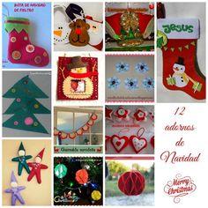 Manualidades con material reciclado para navidad - Manualidades para hacer en casa ...