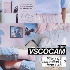 VSCO Cam Filter Settings for Instagram Photos | Filter Q3