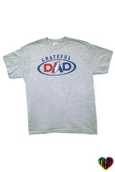 Grateful Dad   Grey - Tie Dye Love Grateful Dead