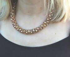 vintage 1950's style necklace in Costume Jewellery | eBay