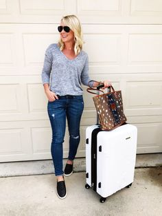 19d6f0d0 Packing Tips, Travel Packing, Fall Outfits, Casual Outfits, Travel  Wardrobe, Slip