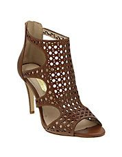 Winnie2 Perforated Caged Sandal