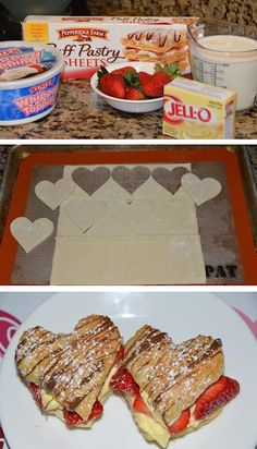 French Napoleons for valentines