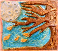 Experiments in Art Education: Low Relief Tiles
