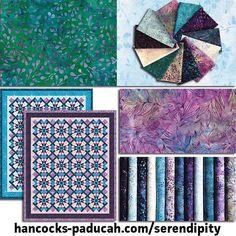 Artisan Batiks Serendipity by . Hancocks Of Paducah, Quilt Kits, Fabulous Fabrics, Serendipity, Quilting, Artisan, Desserts, Handmade, Instagram