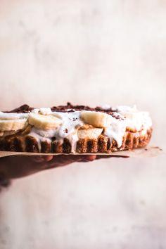 Salted Caramel Banana Cream Tart from Alternative Baker - Golubka Kitchen