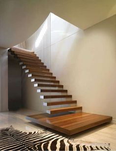 Attractive New Stairs Design pertaining to House Renovation Ideas with Floating Staircase Staircase Design Floating Stairs Design Stairs Contemporary Stairs, Modern Stairs, Contemporary Interior, Interior Stairs, Interior Architecture, Interior Design, Floating Architecture, Interior Rugs, Stairs Architecture
