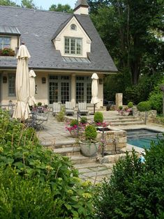 Exterior Photos French Inspired Exterior Design Ideas, Pictures, Remodel, and Decor - page 28
