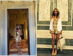 Beyonce in Italy