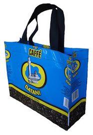 Duurzaam Ondernemen met het UPCYCLE / RECYCLE concept van Italian Coffee Handbags and Lamps