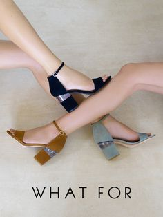 the WHAT FOR Candice sandals