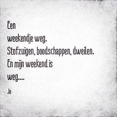 #elfje #quote #huishouden