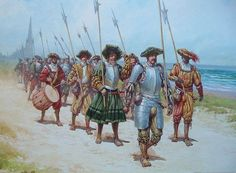 Armadura Medieval, Medieval Armor, Medieval Fantasy, Military Art, Military History, Early Modern Period, Landsknecht, Renaissance Era, Historical Art