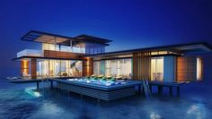 Stella Maris Ocean Villa - outside views of this new boutique resort in the Maldives.