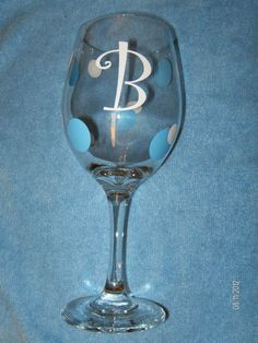 Personalized Wine glasses for sale    $12.00
