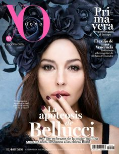 Actress, fashion model @ Monica Bellucci - Yo Dona, Spain, March 2015